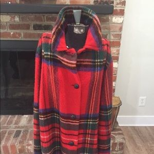 Vintage Murray- Brothers Poncho Cape with Fringe